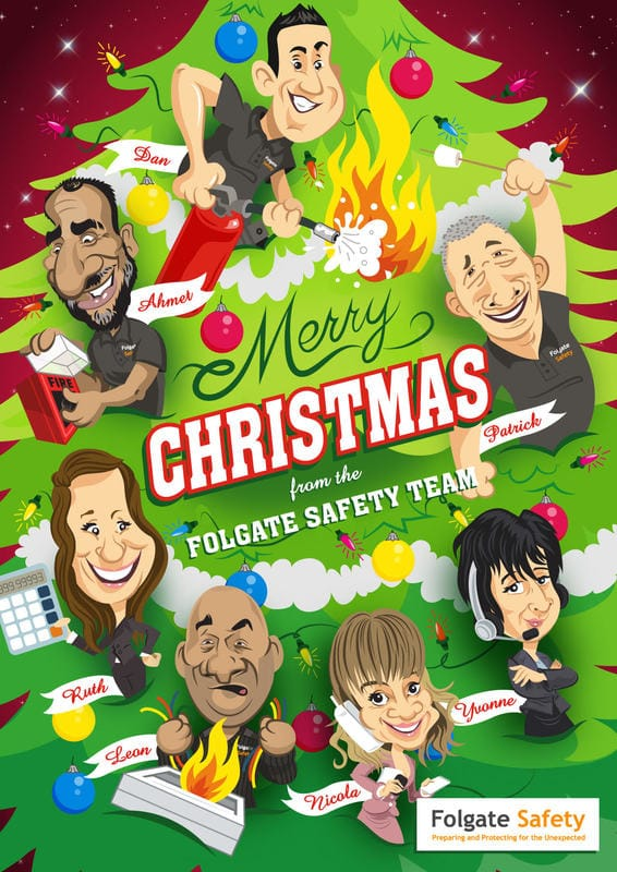 Merry Christmas from Folgate Safety